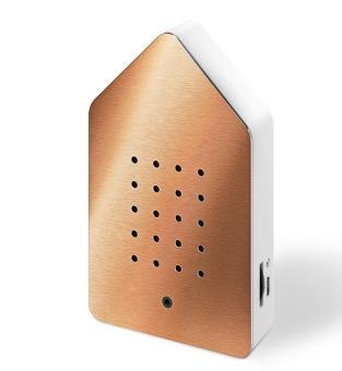 Zwitscherbox BirdyBox rosé gold