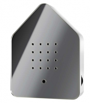 Zwitscherbox Klassik grau