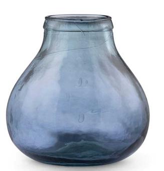 Bitz Vase 24 cm blau