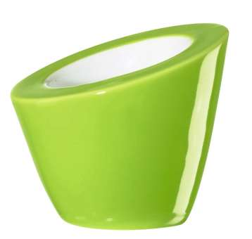 ASA Selection Pollo 2er Set Eierbecher kiwi Glänzend 6,5 cm