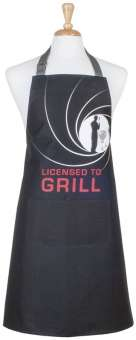 Ladelle Schürze Licensed to Grill