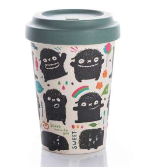 chic.mic BambooCup Monster Greetings