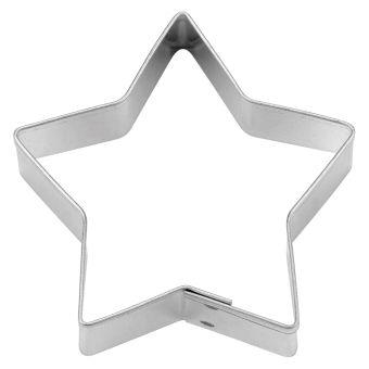 Städter Stern Fünfzackig 7 cm Edelstahl