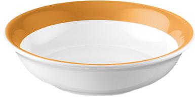 Dibbern Solid Color Bernstein Dessertschale 16 cm
