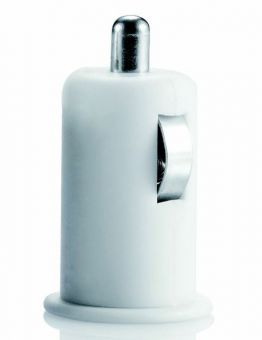 Loooqs USB Car Charger white