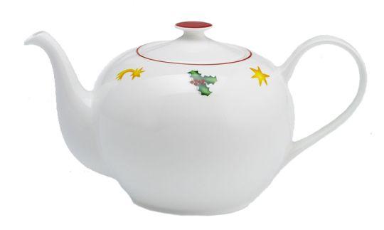 Dibbern Greetings Teekanne rund 1,3 L