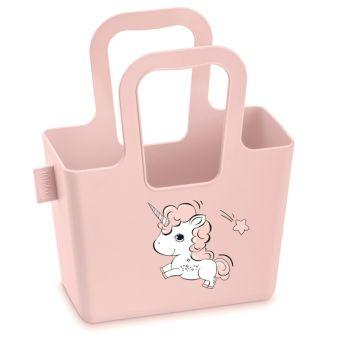 Koziol Taschelini Bella Tasche mit Druck solid powder pink