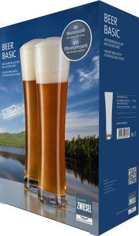 Schott Zwiesel Weizenbierglas mit Moussierpunkt 0,5 L 2er-Set