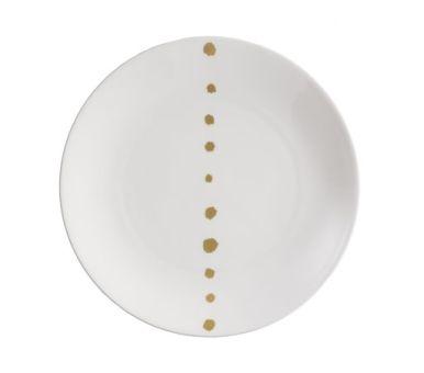 Dibbern Golden Pearls Teller flach 21 cm