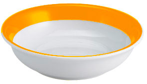 Dibbern Solid Color Orange Dessertschale 16 cm