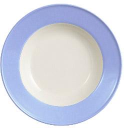 Dibbern Solid Color Lavendelblau Teller tief 23 cm Fahne