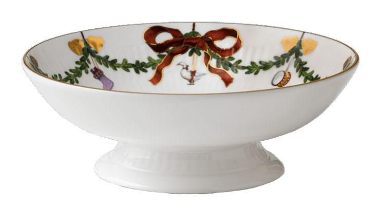 royal copenhagen starfluted christmas schale auf fuss 1016967 tritschler. Black Bedroom Furniture Sets. Home Design Ideas