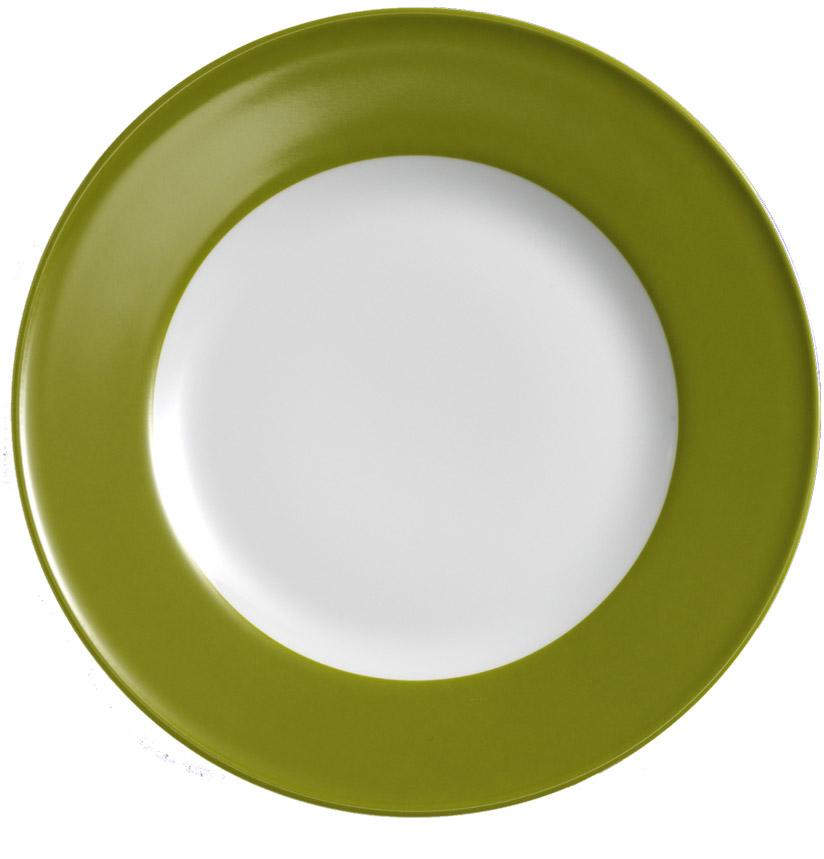 dibbern solid color oliv teller flach 21 cm fahne fachh ndler tritschler stuttgart. Black Bedroom Furniture Sets. Home Design Ideas