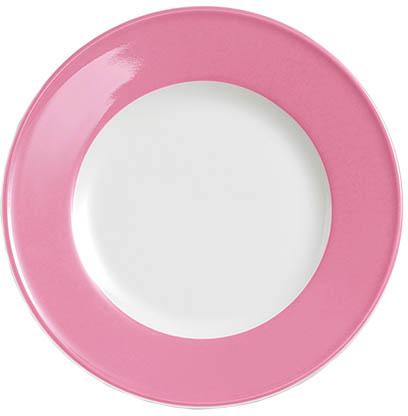 dibbern solid color pink teller flach 19 cm fahne 2001900022 tritschler. Black Bedroom Furniture Sets. Home Design Ideas