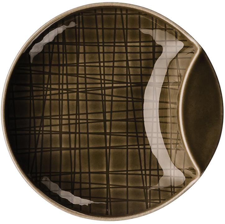 rosenthal selection mesh walnut schale flach 12 cm 11770. Black Bedroom Furniture Sets. Home Design Ideas