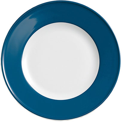 dibbern solid color pazifikblau teller flach 19 cm fahne 2001900031 tritschler. Black Bedroom Furniture Sets. Home Design Ideas