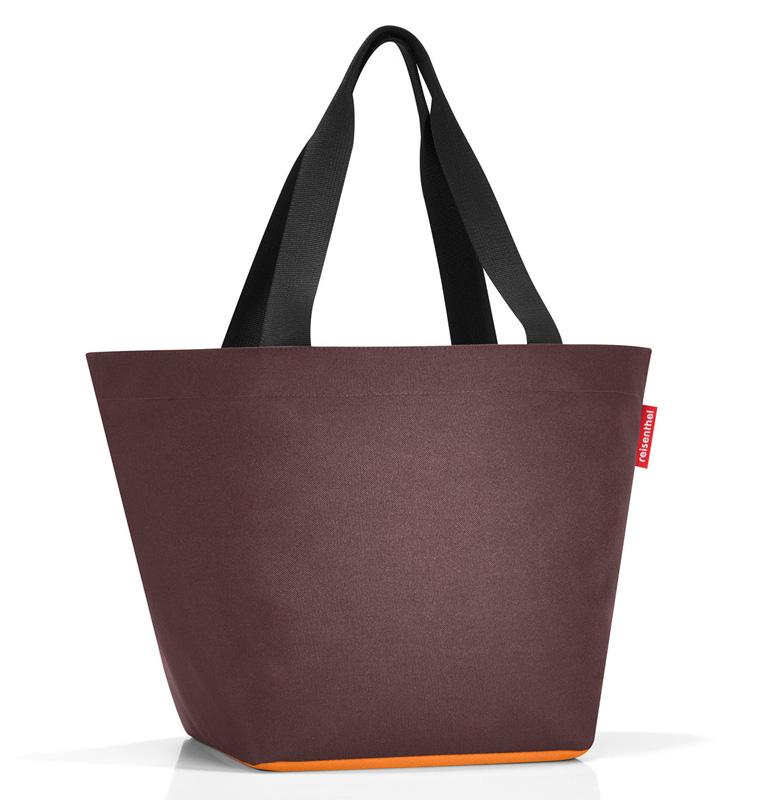 reisenthel shopper m choco curry zs6036. Black Bedroom Furniture Sets. Home Design Ideas