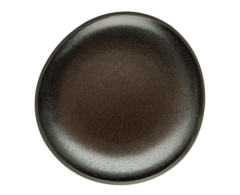 rosenthal selection junto slate grey teller flach 16 cm 21540 405251 60256. Black Bedroom Furniture Sets. Home Design Ideas