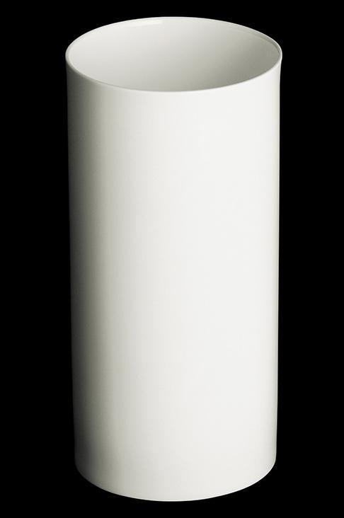 dibbern fine bone china weiss vase zylindrisch 29 cm. Black Bedroom Furniture Sets. Home Design Ideas