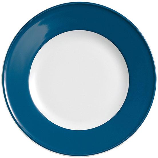 dibbern solid color pazifikblau teller flach 26 cm fahne 2002600031 tritschler. Black Bedroom Furniture Sets. Home Design Ideas