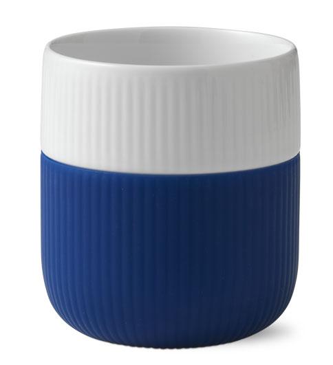 royal copenhagen contrast becher becher mega blau 1017329. Black Bedroom Furniture Sets. Home Design Ideas