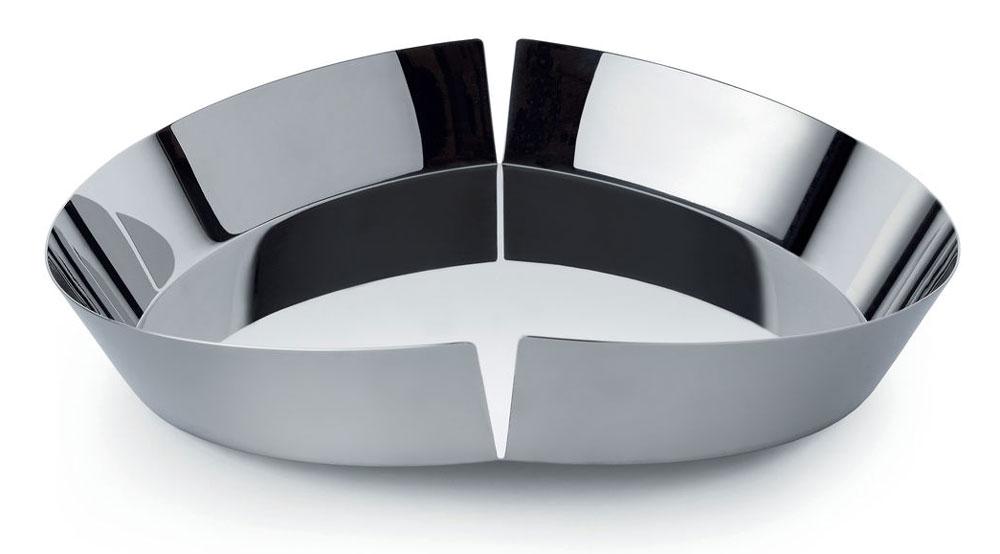 alessi broken bowl obstschale edelstahl msm01. Black Bedroom Furniture Sets. Home Design Ideas