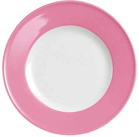 dibbern solid color pink teller flach 21 cm fahne 2002100022. Black Bedroom Furniture Sets. Home Design Ideas