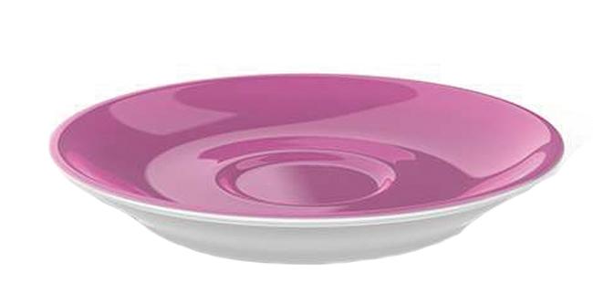 dibbern solid color pink espresso untertasse classico 2014100022. Black Bedroom Furniture Sets. Home Design Ideas