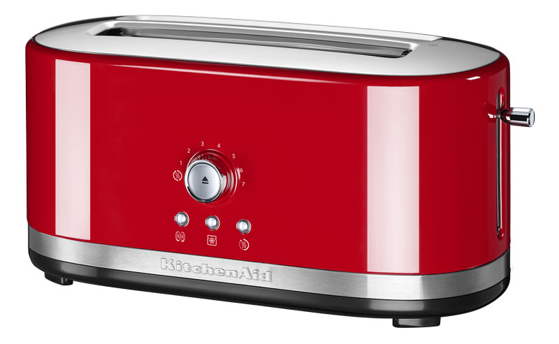 kitchenaid 2er toaster langschlitz empire rot kitchenaid. Black Bedroom Furniture Sets. Home Design Ideas