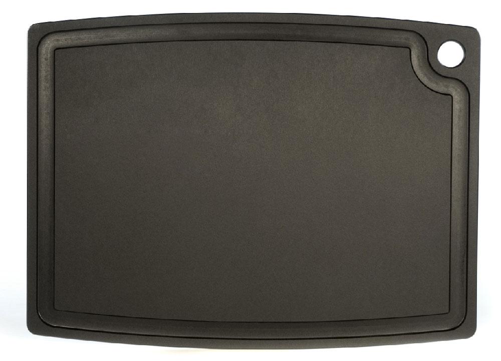 epicurean schneidebrett gourmet mit saftrille schwarz 44x33 cm epicurean. Black Bedroom Furniture Sets. Home Design Ideas