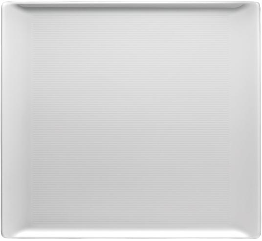 thomas loft weiss platte flach 26x24 cm 11900 800001 12379 tritschler online. Black Bedroom Furniture Sets. Home Design Ideas