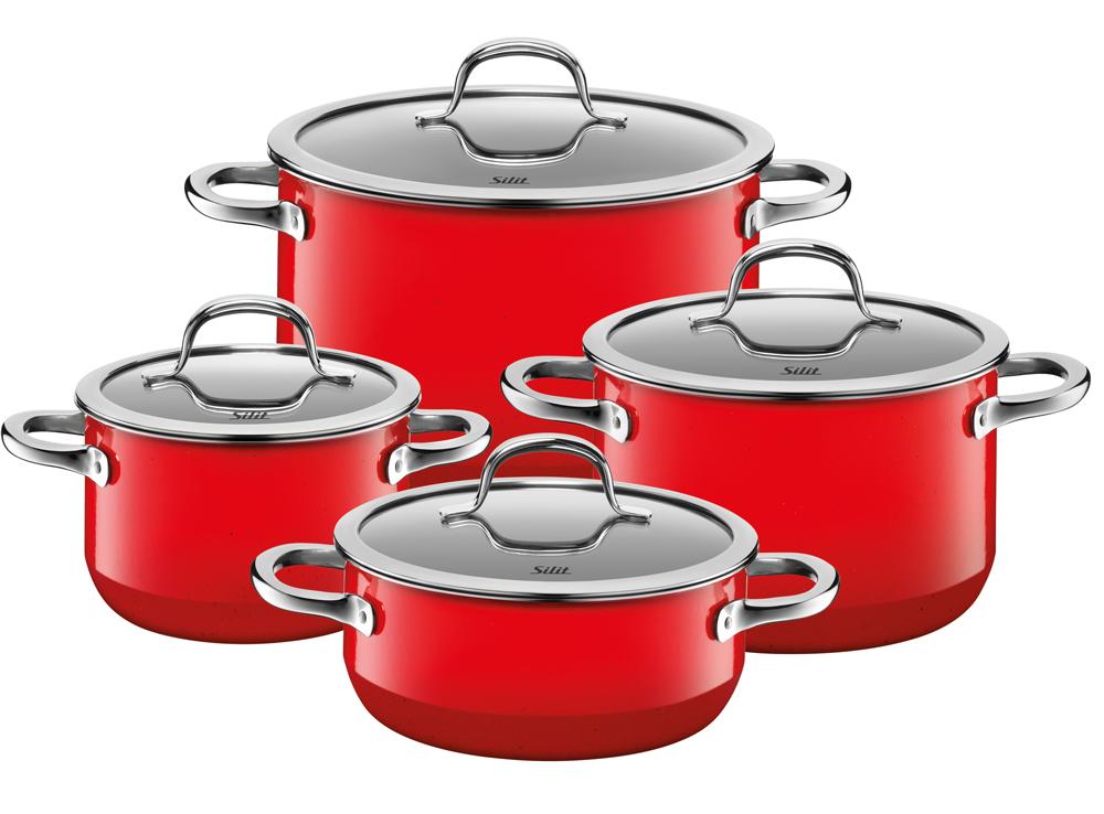 silit passion red topf set 4 tlg 2109297093. Black Bedroom Furniture Sets. Home Design Ideas