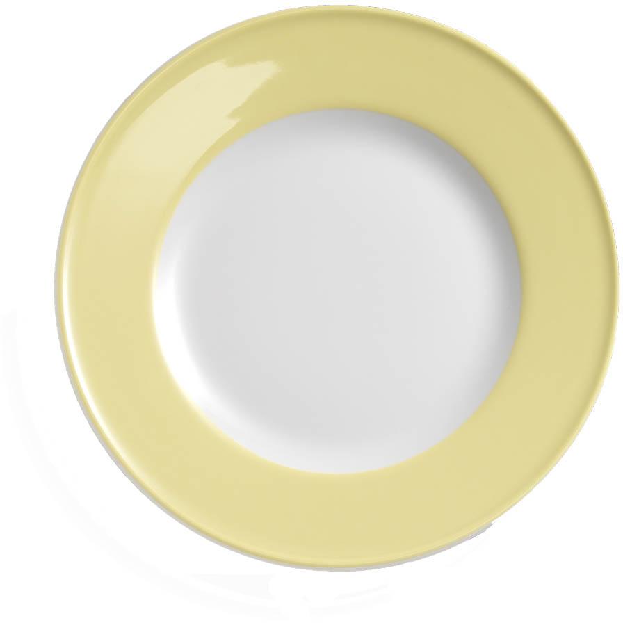 dibbern solid color vanille teller flach 19 cm fahne 2001900004. Black Bedroom Furniture Sets. Home Design Ideas