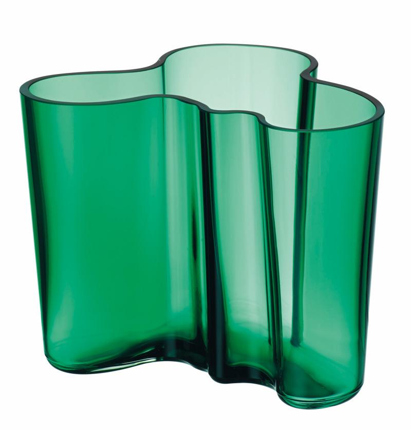 iittala aalto vase 120 mm smaragd 1019999. Black Bedroom Furniture Sets. Home Design Ideas