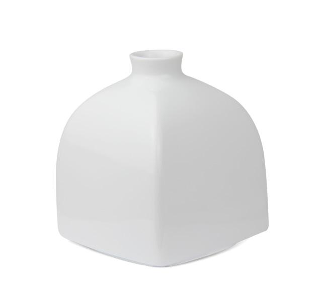 kpm berlin vase w rfelform klein wei 40869900 tritschler online shop. Black Bedroom Furniture Sets. Home Design Ideas