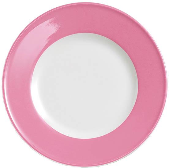 dibbern solid color pink teller flach 26 cm fahne 2002600022. Black Bedroom Furniture Sets. Home Design Ideas