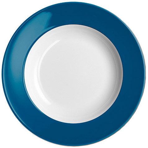dibbern solid color pazifikblau teller tief 23 cm fahne 2005500031 tritschler. Black Bedroom Furniture Sets. Home Design Ideas
