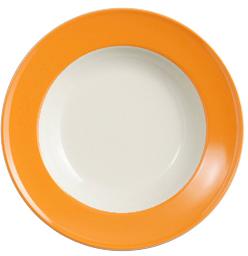 dibbern solid color orange teller tief 23 cm fahne 2005500014 tritschler. Black Bedroom Furniture Sets. Home Design Ideas
