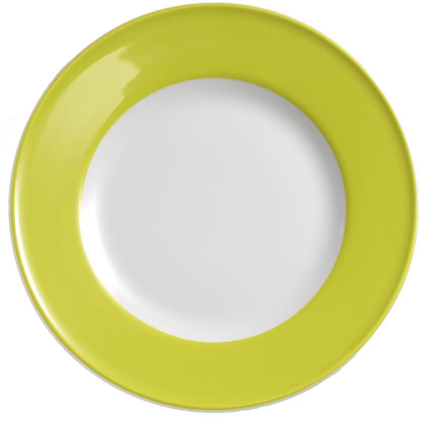 dibbern solid color limone teller flach 26 cm fahne 2002600038. Black Bedroom Furniture Sets. Home Design Ideas