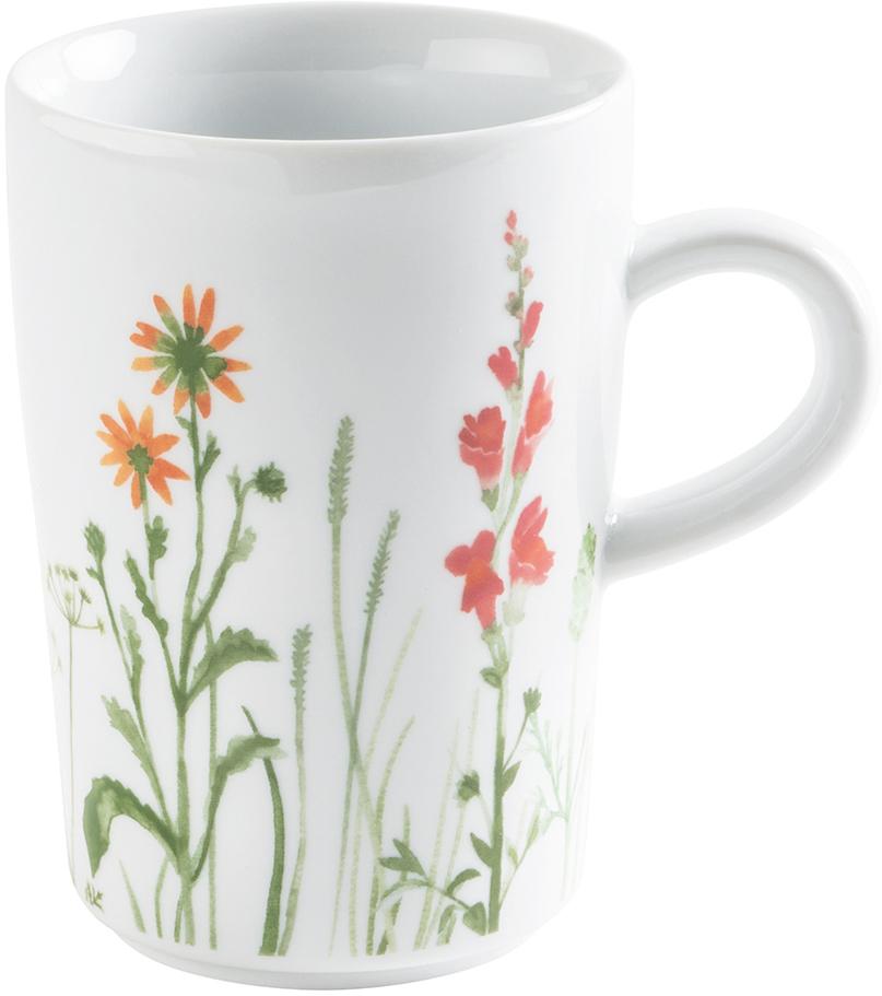 kahla magic grip five senses wildblume macchiato obertasse 0 35 l rot gelb. Black Bedroom Furniture Sets. Home Design Ideas