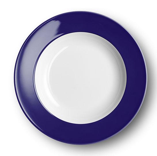 dibbern solid color kobalt teller tief 23 cm fahne 2005500055. Black Bedroom Furniture Sets. Home Design Ideas