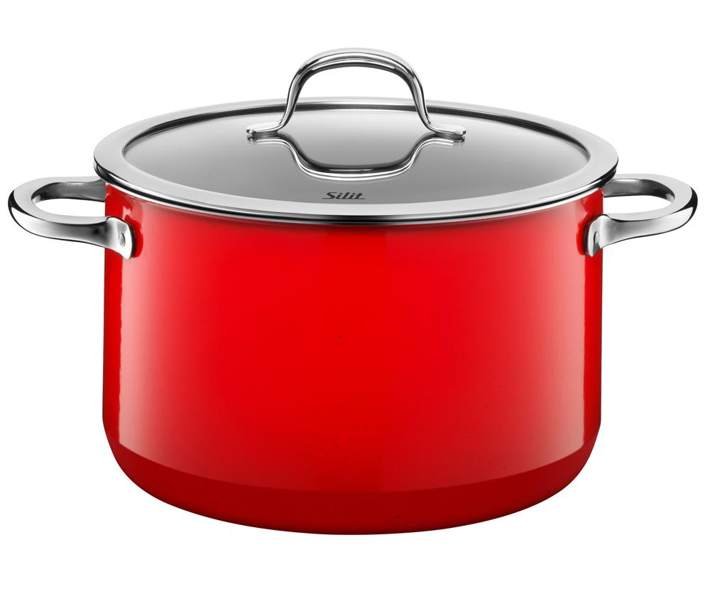 silit passion red fleischtopf mit deckel 24 cm 2102297079. Black Bedroom Furniture Sets. Home Design Ideas