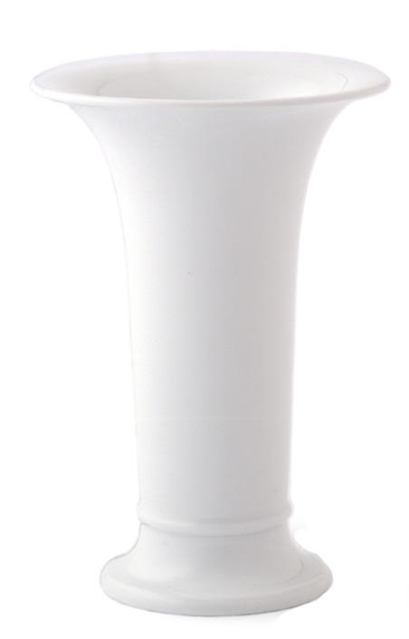 kpm berlin vase trompetenform 2 wei fachh ndler tritschler stuttgart. Black Bedroom Furniture Sets. Home Design Ideas