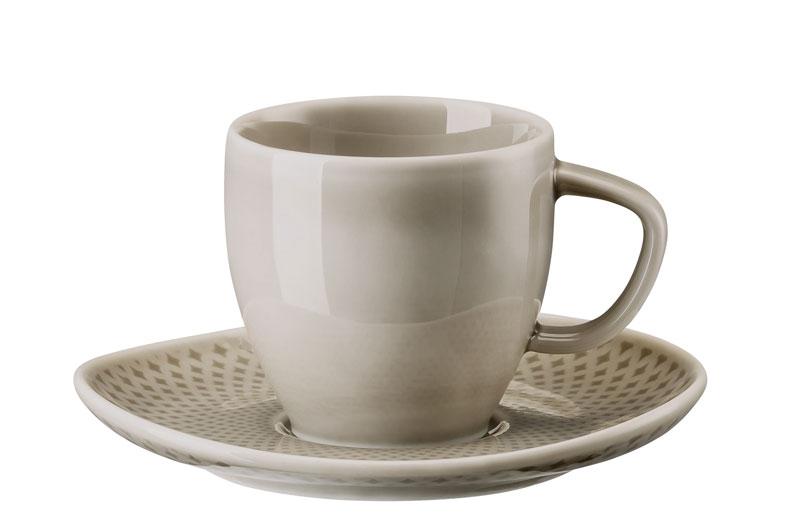 rosenthal selection junto pearl grey espressotasse im geschenkkarton 10540 405201 29052. Black Bedroom Furniture Sets. Home Design Ideas