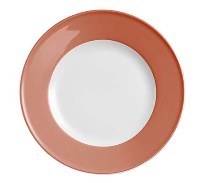 dibbern solid color papaya teller flach 21 cm fahne 2002100015 tritschler. Black Bedroom Furniture Sets. Home Design Ideas