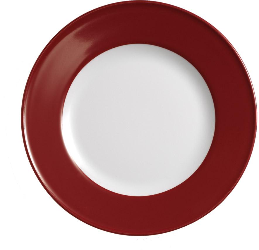 dibbern solid color paprika teller flach 21 cm fahne 2002100017 tritschler. Black Bedroom Furniture Sets. Home Design Ideas