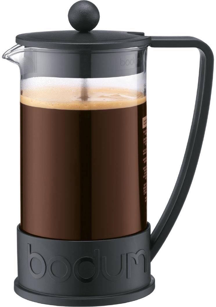bodum brazil kaffeebereiter 8 tassen 1 l schwarz 10938 01. Black Bedroom Furniture Sets. Home Design Ideas