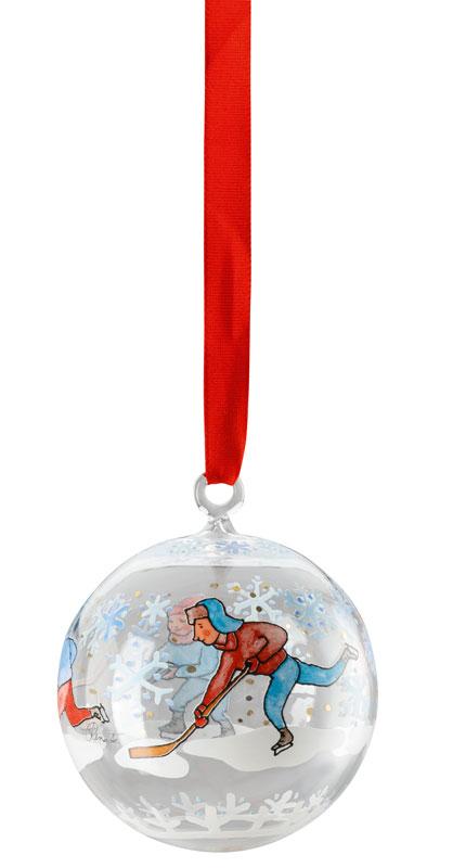 Fröhliche Weihnacht überall Kristallzapfen Zapfen Glas Hutschenreuther 2018