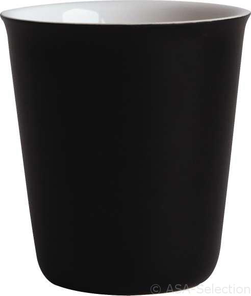 asa selection coppetta becher espresso schwarz matt. Black Bedroom Furniture Sets. Home Design Ideas