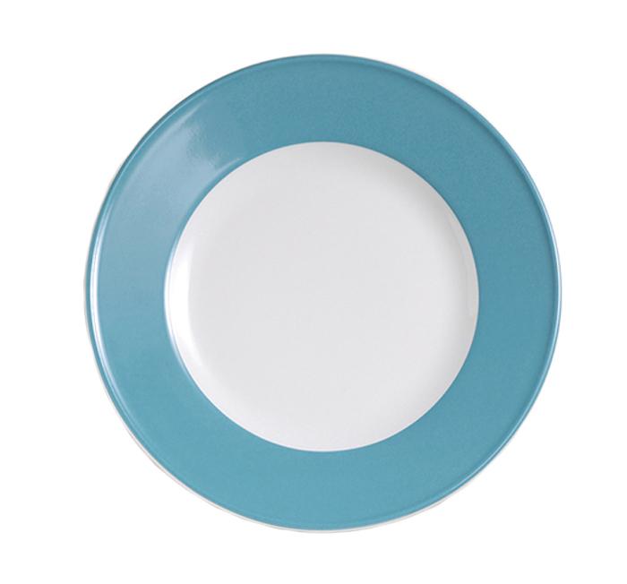 dibbern solid color vintage blue teller flach 21 cm fahne 2002100027 tritschler. Black Bedroom Furniture Sets. Home Design Ideas